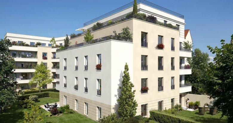 Achat / Vente immobilier neuf Maisons-Laffitte à 4min de la gare (78600) - Réf. 6032