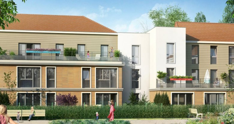 Achat / Vente immobilier neuf Mareil-Marly proche forêt de Marly (78750) - Réf. 1814