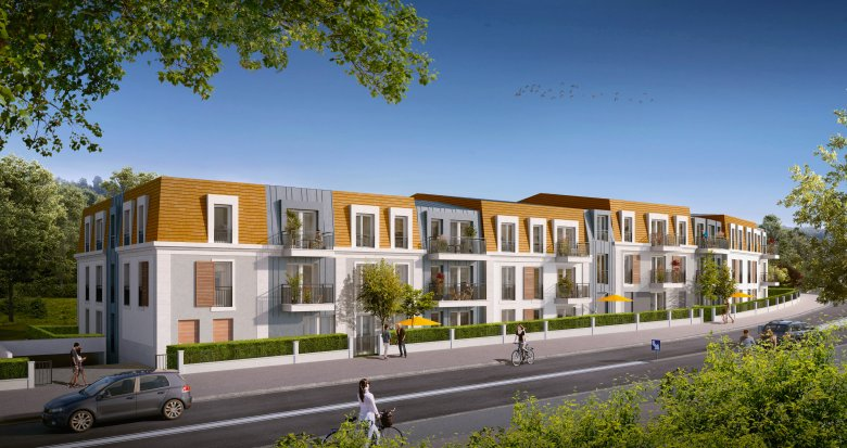 Achat / Vente immobilier neuf Marly-Le-Roi proche école (78160) - Réf. 3221