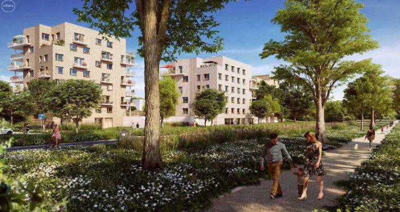 Achat / Vente immobilier neuf Massy au coeur du parc Vilgénis (91300) - Réf. 4993