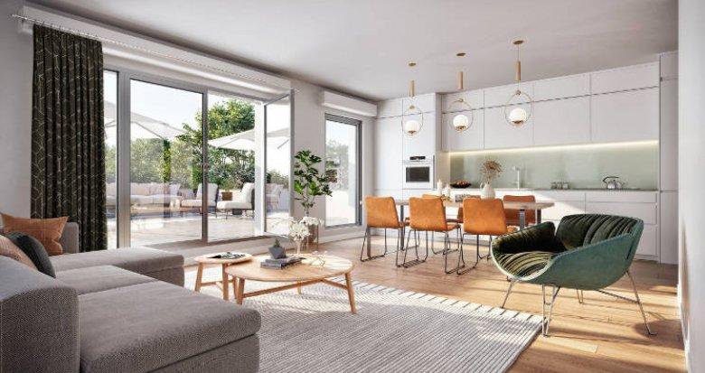 Achat / Vente immobilier neuf Massy au cœur du quartier Descartes (91300) - Réf. 5974