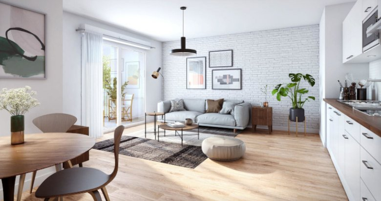Achat / Vente immobilier neuf Melun au cœur du nouvel éco-quartier (77000) - Réf. 5568