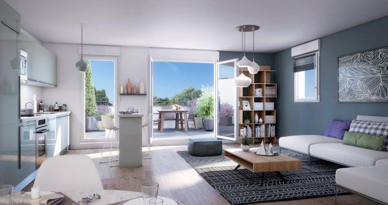 Achat / Vente immobilier neuf Melun centre à 10 min de marche (77000) - Réf. 5244