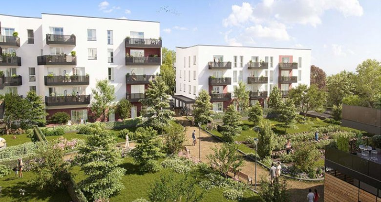 Achat / Vente immobilier neuf Melun éco-quartier Woodi (77000) - Réf. 5637