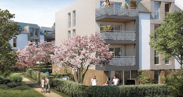 Achat / Vente immobilier neuf Melun entre ville et nature au coeur du quartier La Préfecture (77000) - Réf. 5345