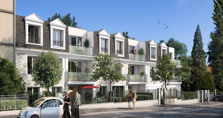 Achat / Vente immobilier neuf Melun proche Parc Debreuil (77000) - Réf. 4533