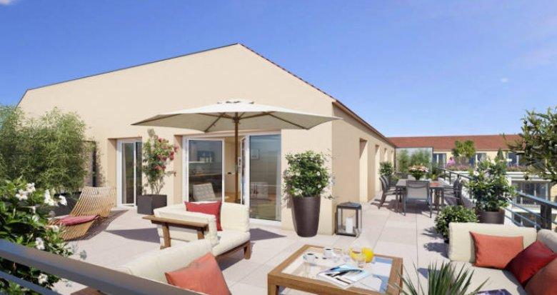 Achat / Vente immobilier neuf Mennecy à 800 mètres du RER (91540) - Réf. 5443