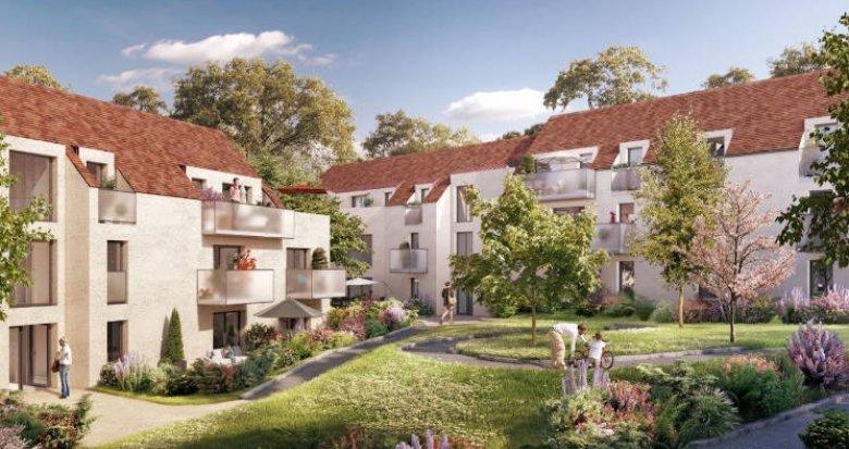 Achat / Vente immobilier neuf Mennecy bordée par les établissements scolaires (91540) - Réf. 4486