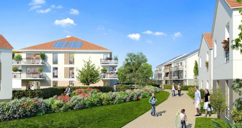 Achat / Vente immobilier neuf Mennecy proche écoles (91540) - Réf. 1153
