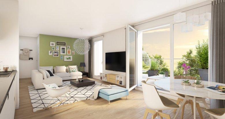Achat / Vente immobilier neuf Meulan proche commodités (78250) - Réf. 1659