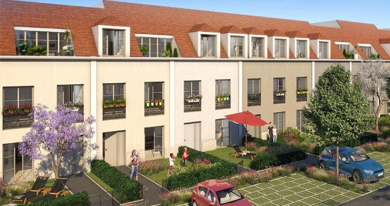Achat / Vente immobilier neuf Moissy-Cramayel cœur de ville (77550) - Réf. 3332