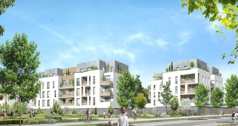 Achat / Vente immobilier neuf Moissy-Cramayel écoquartier l'Arboretum de Chanteloup (77550) - Réf. 5475