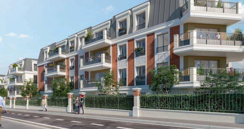 Achat / Vente immobilier neuf Montfermeil à 4 min du tramway T4 (93370) - Réf. 5230