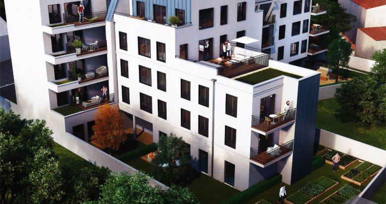 Achat / Vente immobilier neuf Montreuil proche Mairie (93100) - Réf. 344