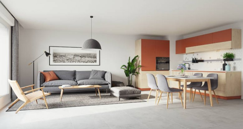 Achat / Vente immobilier neuf Morangis proche Square Condorcet (91420) - Réf. 5746