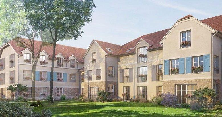 Achat / Vente immobilier neuf Mours proche l'Isle Adam prestations premium (95260) - Réf. 867