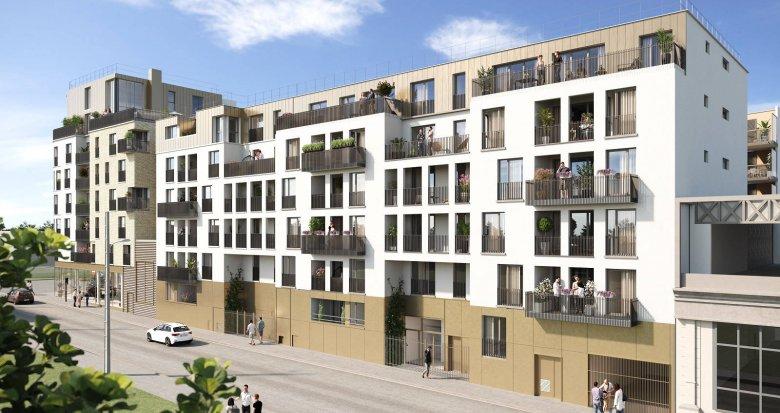 Achat / Vente immobilier neuf Neuilly-Plaisance proche des bords de Marne (93360) - Réf. 6262