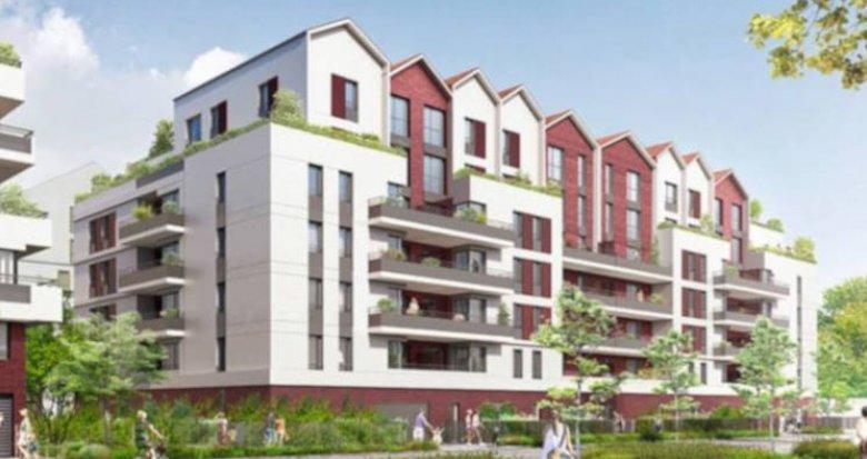 Achat / Vente immobilier neuf Neuilly-sur-Marne proche parc du Croissant Vert (93330) - Réf. 3216