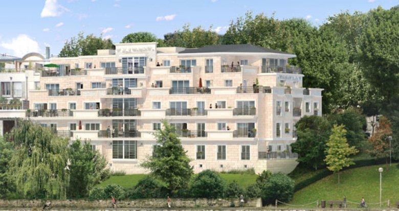Achat / Vente immobilier neuf Neuilly sur seine quartier d'affaires de la Défense (92200) - Réf. 2358