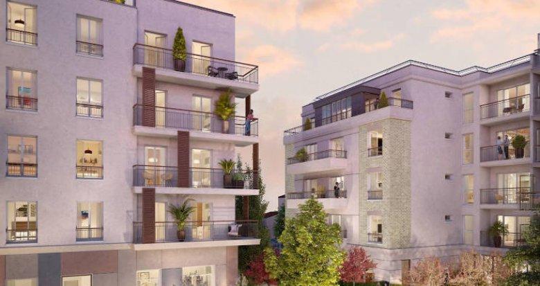 Achat / Vente immobilier neuf Nogent-sur-Marne proche RER A (94130) - Réf. 4249