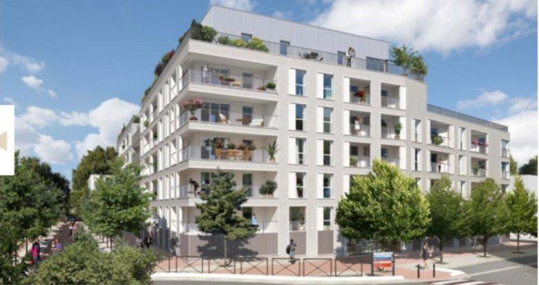 Achat / Vente immobilier neuf Noisiel quartier Luzard (77186) - Réf. 3565