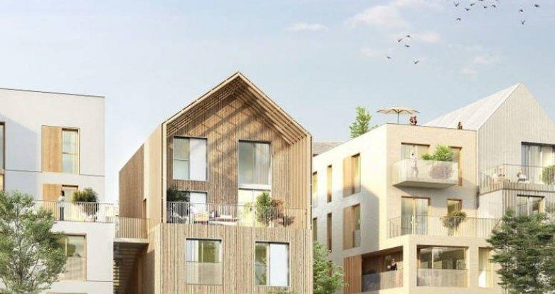 Achat / Vente immobilier neuf Noisy-le-Grand au coeur d'un éco-quartier (93160) - Réf. 4829
