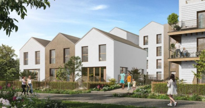 Achat / Vente immobilier neuf Noisy-le-Grand éco-quartier de l'Île de la Marne (93160) - Réf. 5573