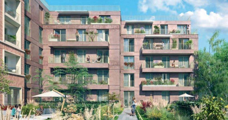 Achat / Vente immobilier neuf Noisy-le-Sec à 300 mètres du RER E (93130) - Réf. 4527