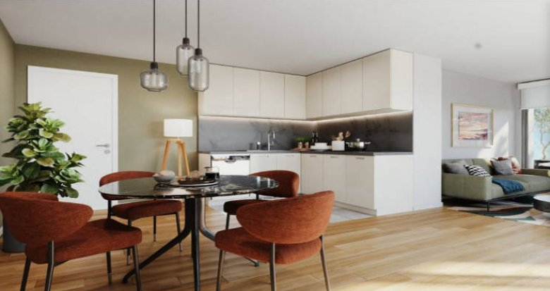 Achat / Vente immobilier neuf Noisy-le-Sec proche tout transports (93130) - Réf. 5506