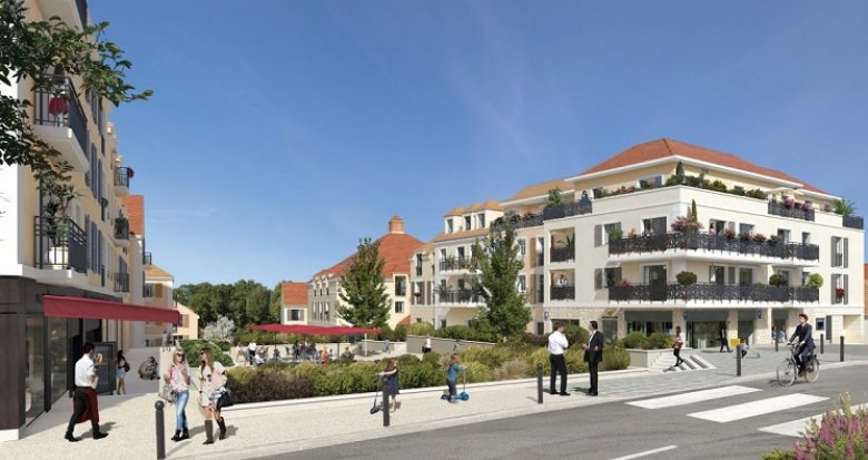 Achat / Vente immobilier neuf Orgeval centre historique (78630) - Réf. 3502