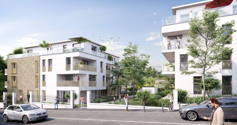 Achat / Vente immobilier neuf Ormesson-sur-Marne proche Lac du Grand Val (94490) - Réf. 6175