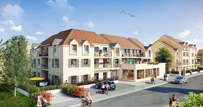 Achat / Vente immobilier neuf Parmain proche gare de Valmondois (95620) - Réf. 578