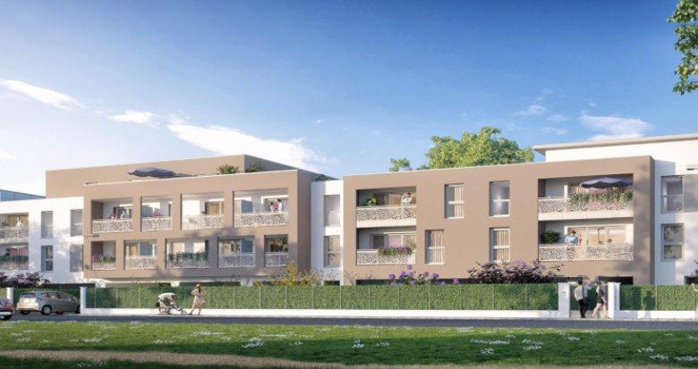 Achat / Vente immobilier neuf Persan face bords de l'Oise (95340) - Réf. 2862