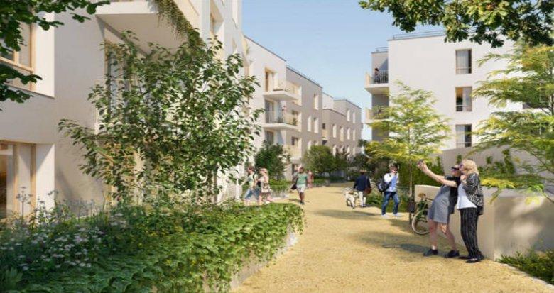 Achat / Vente immobilier neuf Pierrefitte -sur-Seine à 100 mètres du tramway T5 (93380) - Réf. 5326