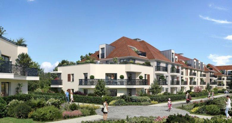 Achat / Vente immobilier neuf Plaisir proche base de loisirs de Saint-Quentin (78370) - Réf. 2115