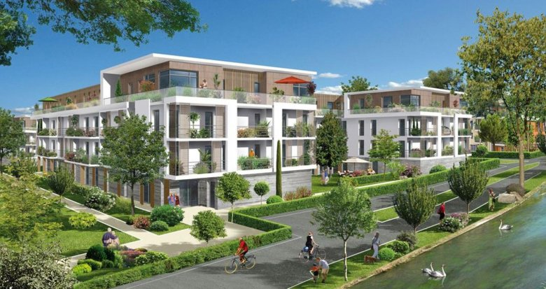 Achat / Vente immobilier neuf Pomponne proche gare SNCF et RER (77400) - Réf. 238