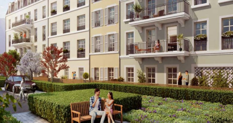 Achat / Vente immobilier neuf Pontoise proche RER et de la place centrale (95000) - Réf. 5987