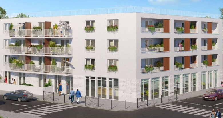 Achat / Vente immobilier neuf Ris orangis au coeur du quartier de la gare- 500m du RER D (91130) - Réf. 5218