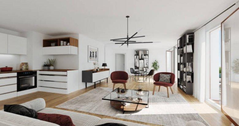 Achat / Vente immobilier neuf Ris-Orangis éco-quartier des Docks de Ris (91130) - Réf. 5683