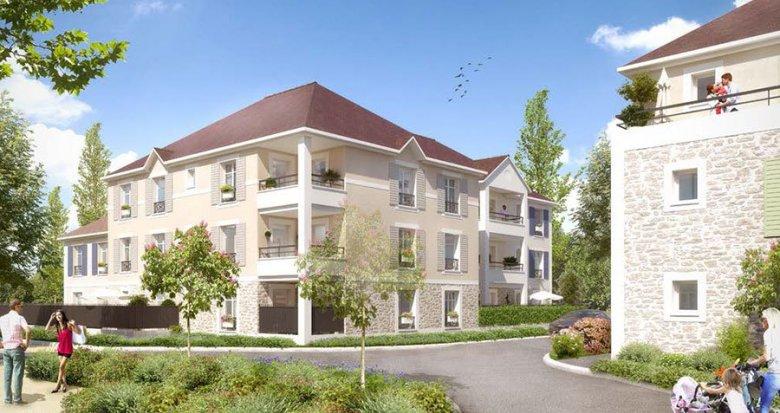 Achat / Vente immobilier neuf Rubelle quartier Les Trois Noyers (77950) - Réf. 1842
