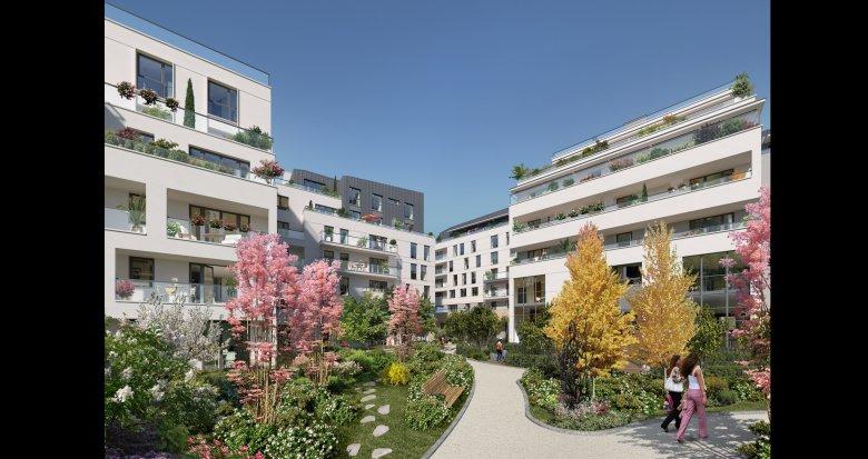 Achat / Vente immobilier neuf Rueil-Malmaison écoquartier de l'Arsenal (92500) - Réf. 1281