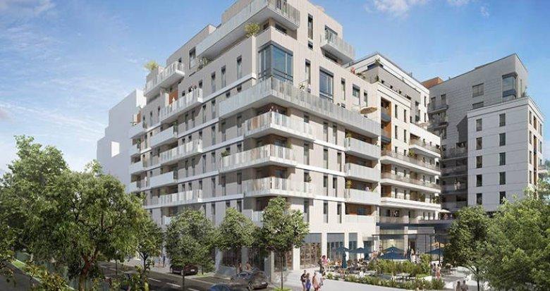 Achat / Vente immobilier neuf Rueil-Malmaison face au parc et à deux pas des bords de Seine (92500) - Réf. 4261