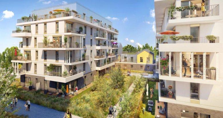 Achat / Vente immobilier neuf Rueil-Malmaison quartier Buzenval (92500) - Réf. 5756