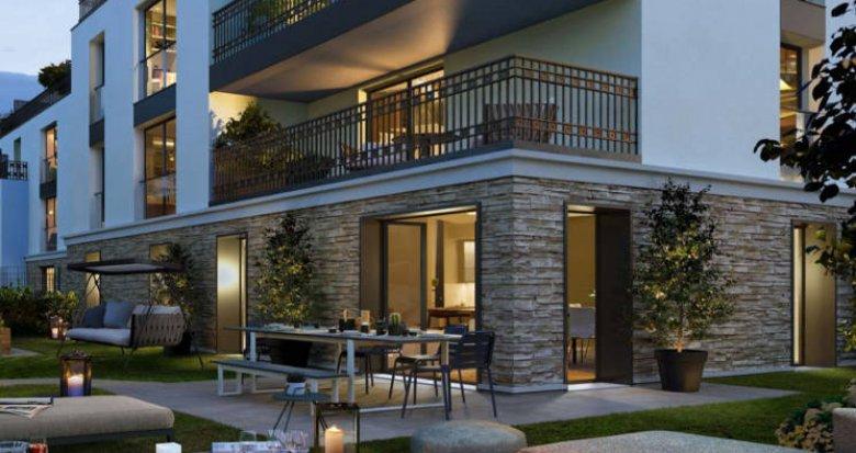 Achat / Vente immobilier neuf Saint-Cloud proche Parc St-Cloud (92210) - Réf. 4825
