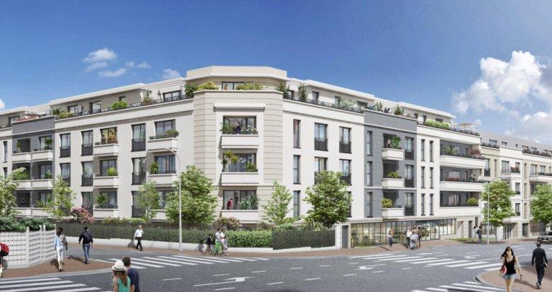 Achat / Vente immobilier neuf Saint-Cyr-l'École à 1,6 km de la gare (78210) - Réf. 6103