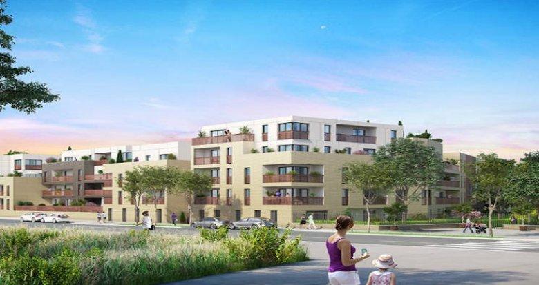 Achat / Vente immobilier neuf Saint-Cyr-l'Ecole à 1 kilomètre du RER C (78210) - Réf. 3918