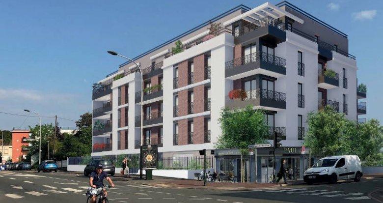 Achat / Vente immobilier neuf Saint-Cyr-L'Ecole à 3 minutes de l'école maternelle (78210) - Réf. 4285