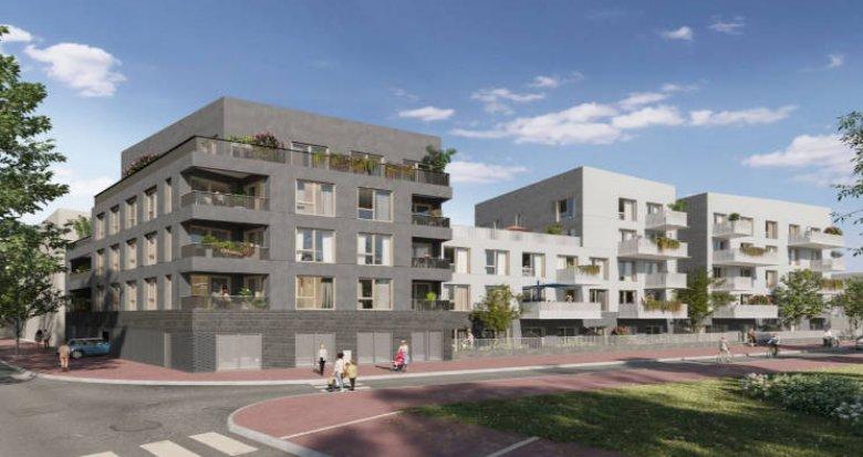 Achat / Vente immobilier neuf Saint-Cyr-l'Ecole futur quartier Plaine de Vie (78210) - Réf. 4952