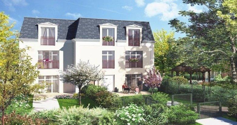 Achat / Vente immobilier neuf Saint-Leu-la-Forêt 800 mètres de la gare (95320) - Réf. 2009