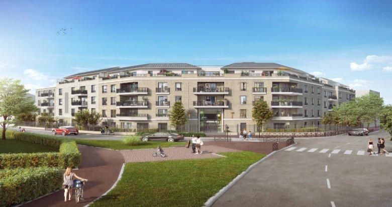 Achat / Vente immobilier neuf Saint-Maur-des-Fossés proche Gare Saint-Maur-Créteil et RER A (94100) - Réf. 4141